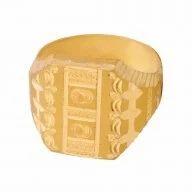 Gold Mukut Rings