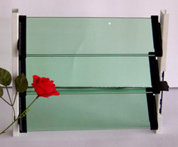 Green Louver Glass