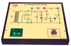 UJT Trigger Circuit for SCR Trainer