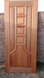 Red Muranty Door