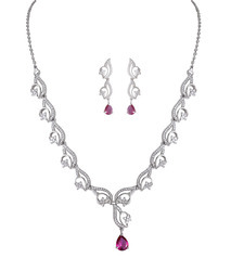 925 Sterling Silver Necklace Set