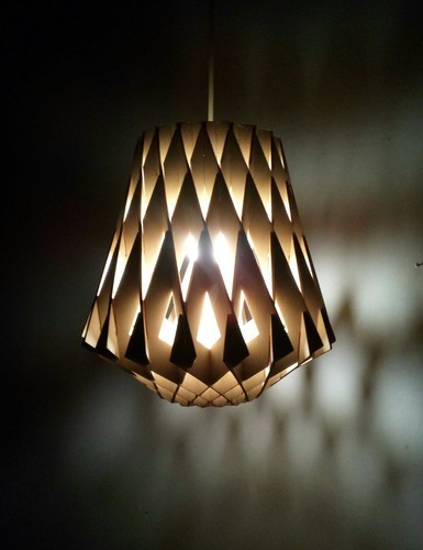 Handmade And Modern Contemporary Wooden Lampshades