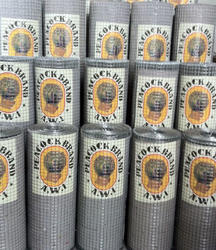 Iron Galvanised Galvanized Welded Mesh, For Agricultural, 6 Mm