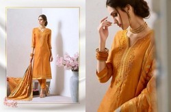 Kessi's Pure Chanderi silk with Khatliwork Salwar Suits