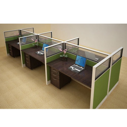 6 Seater Modular Office Workstation
