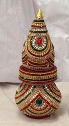 Wooden Decorative Kalash