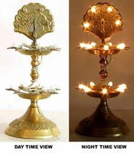 LED Brass Lamp