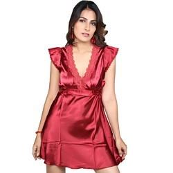 Designer Night Wear Fancy Nighty 535