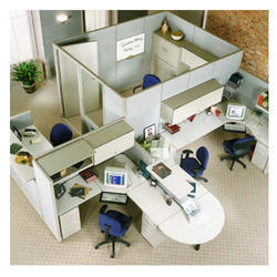Designer Modular Office Workstation
