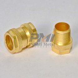 38 MM Brass Knurling Insert