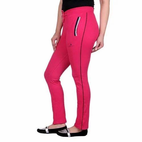 b6c7ae17b Pink Sports Wear Cotton Ladies Lower