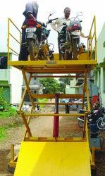 Bikes Unloading Ramp