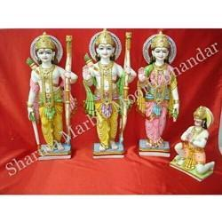 Pure Marble Ram Darbar Sculpture