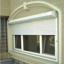 Aluminium Half Height Automatic Rolling Shutters