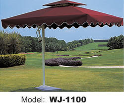 Wicker Hub Beach Umbrella