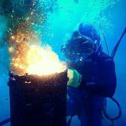 Underwater Ship Repair Service, For Industrial