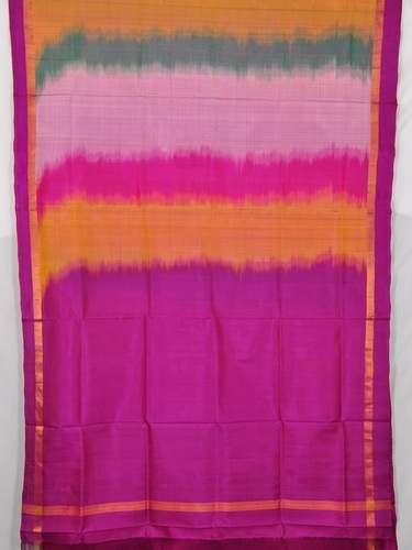 5c54ccdf87 Pochampally Ikkat Pure Silk Saree With Blouse at Rs 2000 /piece(s ...