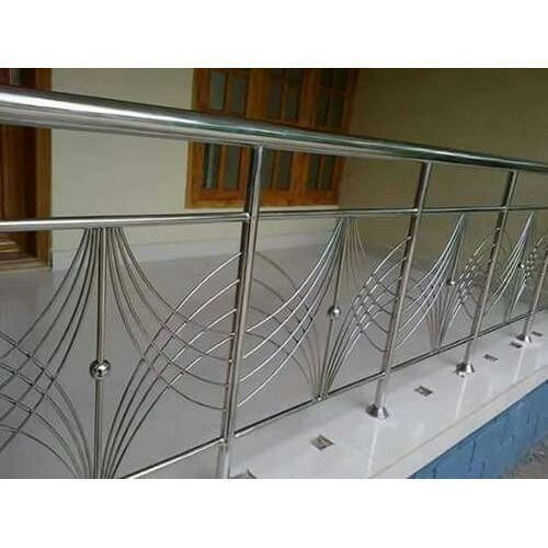 Stainless Steel Steel Balcony Railing, Rs 700 /square feet ...