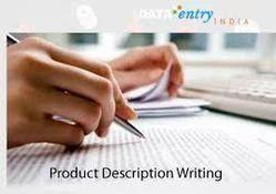 Product Service Description Writing Services