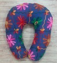 Embroidered Travel Neck Pillow