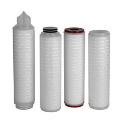 Pleated Polypropylene Filters, Diameter: 1 inch