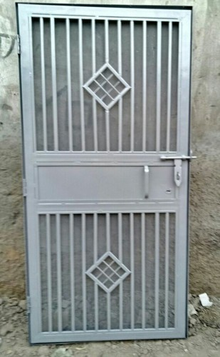 Iron Safety Door & Iron Safety Door Iron Pipe Saftey Doors - Asim Steel \u0026 Furniture ...
