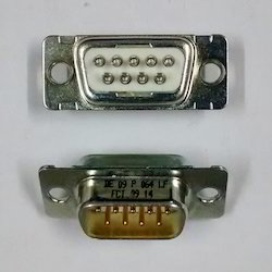 9- Pin-d Type- Male- PCB- Mount Connector