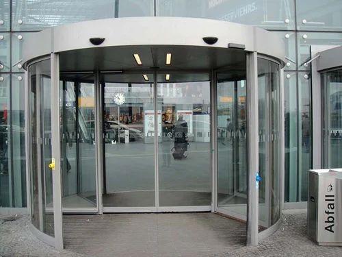 Glass Revolving Door Doors And Windows Quaf Solutions In