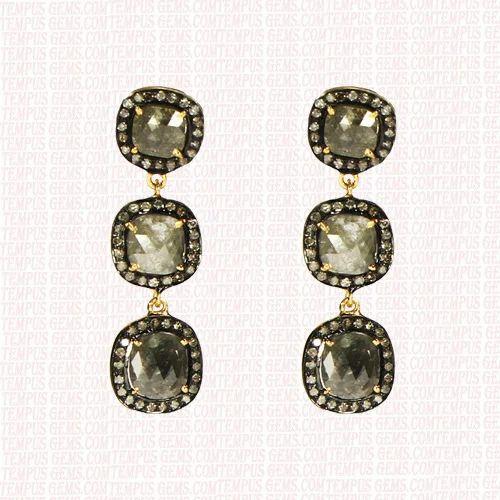 Tempus Gems Single Cut Diamond Earring Rs 35000 Piece Tempus