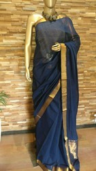 Cotton Embroidered Mangalgiri Casual Wear Saree