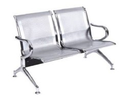 Two Seater Metal Bench