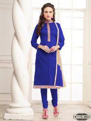 Chanderi Printed Dress Material
