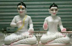 Marble Ram Janki Statue
