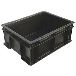 Black Customized Crate