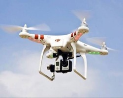 Helicam Service For Industrial Use Or Wedding