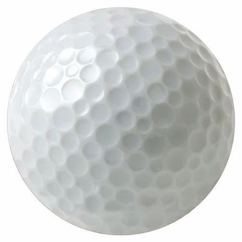 White Golf Ball, गोल्फ बॉल - Super Enterprises, Pune | ID: 13379557073