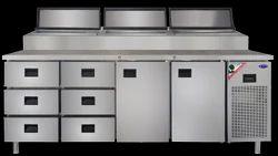 Multi Door Worktop Refrigerator