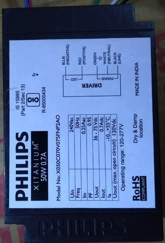 Philips Led Driver 50 Watt