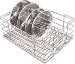 Stainless Steel Thali and Plate Basket