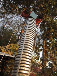 Unbalance Motorized Spiral Elevator