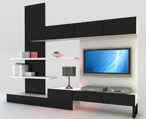 LED TV Panel   Modern LED TV Panel With Storage Manufacturer From Ghaziabad