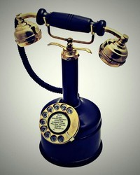 Candlestick Rotary Dial working Landline Telephone