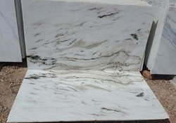 Morchana White Marble Slab for Flooring, Thickness: 10-15 and 15-20 mm