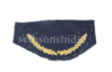 Blue Embroidered Institutional Fabrics