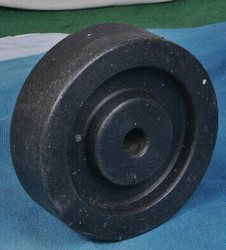 Plastic Black Trolley Wheel