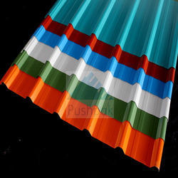 FRP Cold Rolled Color Coated Roofing Sheets