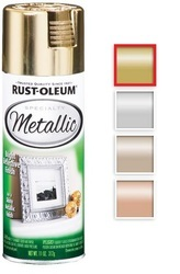 Rust Oleum Specialty Metallic Spray Paint