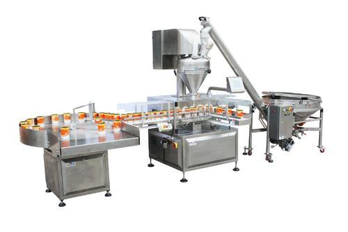 Stainless Steel Three Phase Auto Powder Filling Machine