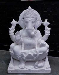 Ganpati Marble Murti