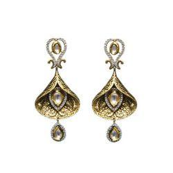 Designer Brass Earring